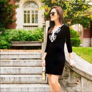 Lilly Pulitzer Devlin Soutache Trim Sweater dress